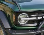 2022 Ford Bronco 4-Door (Color: Eruption Green) Headlight Wallpapers 150x120 (12)