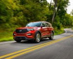2022 Ford Explorer ST-Line Front Three-Quarter Wallpapers 150x120 (5)