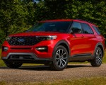 2022 Ford Explorer ST-Line Front Three-Quarter Wallpapers 150x120 (9)