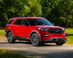 2022 Ford Explorer ST-Line Front Three-Quarter Wallpapers 150x120 (10)