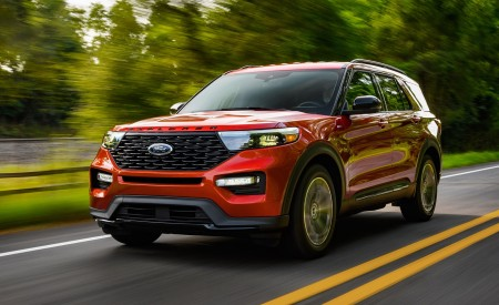 2022 Ford Explorer ST-Line Wallpapers HD