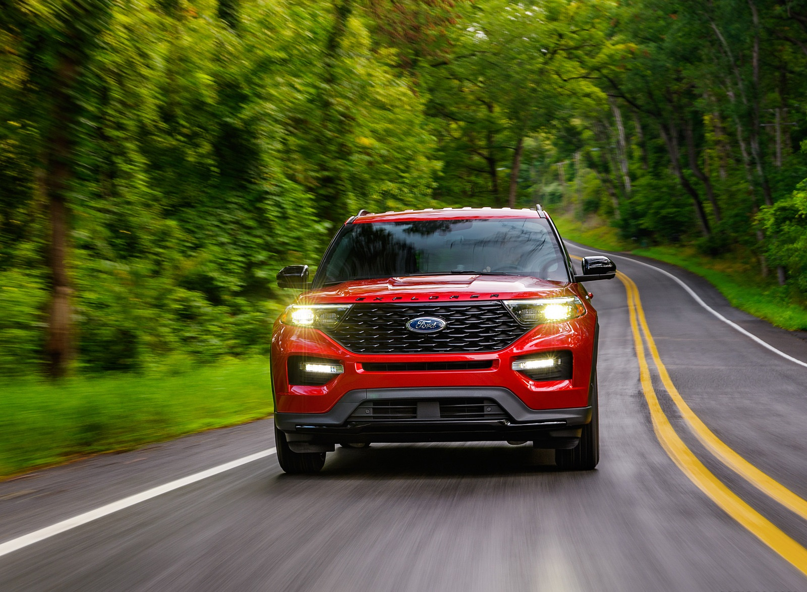 2022 Ford Explorer ST-Line Front Wallpapers (6)