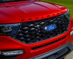 2022 Ford Explorer ST-Line Grille Wallpapers 150x120 (18)