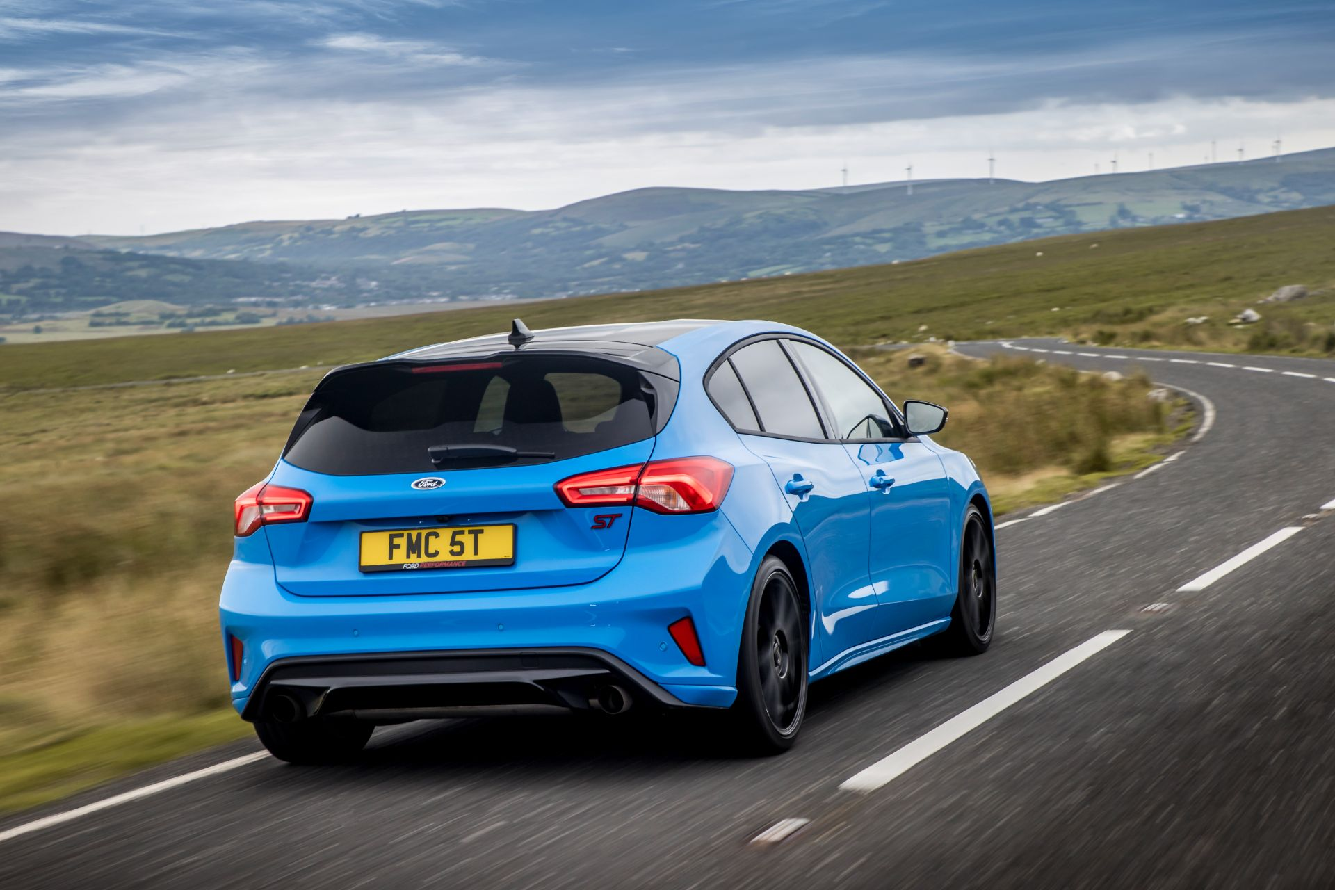2022 Ford Focus ST Edition Rear Three-Quarter Wallpapers (5)