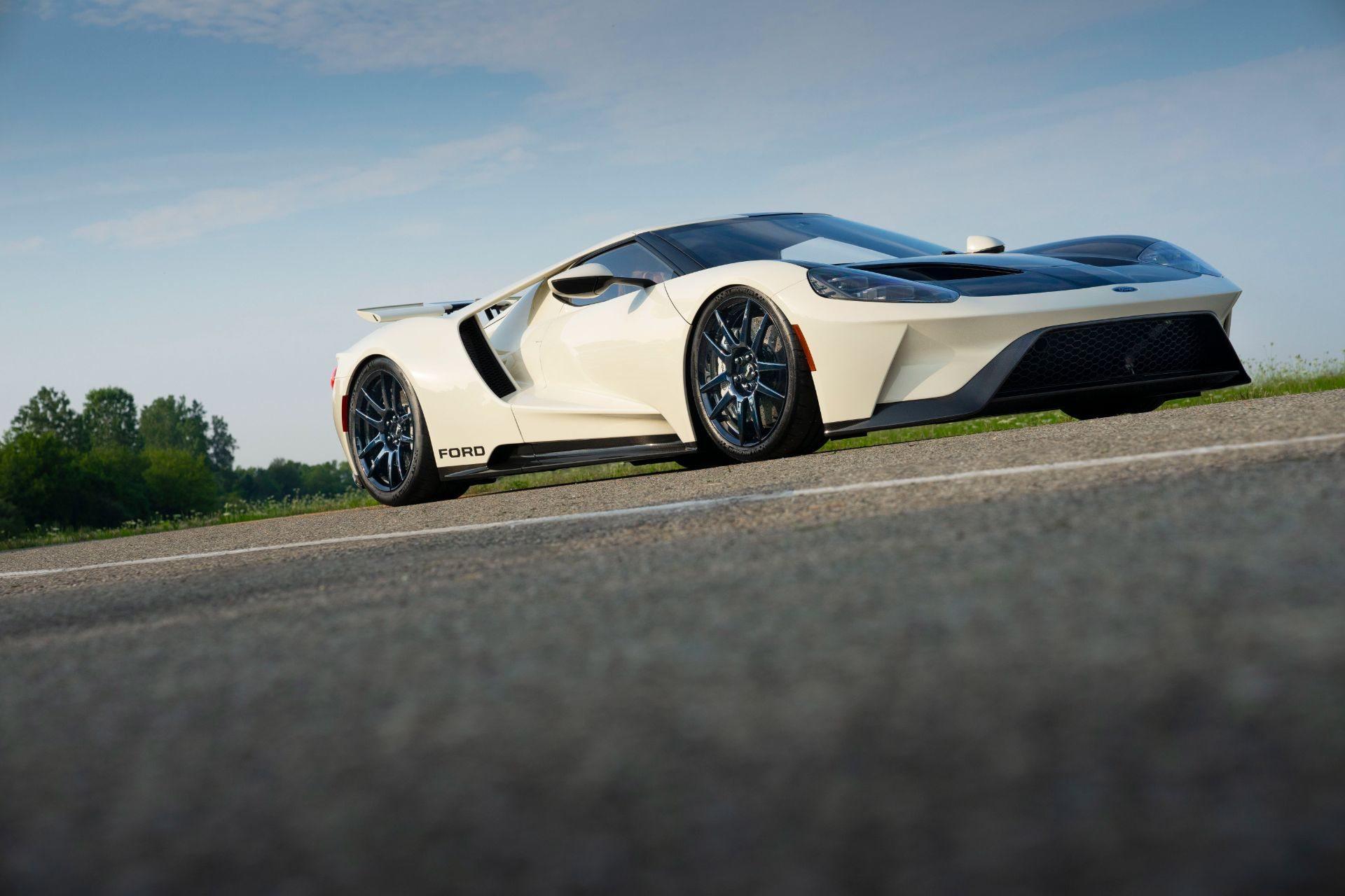 2022 Ford GT 64 Heritage Edition Front Three-Quarter Wallpapers (4)