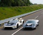 2022 Ford GT 64 Heritage Edition and 1964 Ford GT Prototype Front Three-Quarter Wallpapers 150x120 (11)