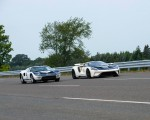 2022 Ford GT 64 Heritage Edition and 1964 Ford GT Prototype Front Three-Quarter Wallpapers 150x120 (12)