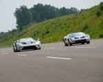 2022 Ford GT 64 Heritage Edition and 1964 Ford GT Prototype Front Three-Quarter Wallpapers 150x120 (13)