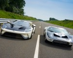 2022 Ford GT 64 Heritage Edition and 1964 Ford GT Prototype Front Wallpapers 150x120 (14)
