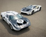 2022 Ford GT 64 Heritage Edition and 1964 Ford GT Prototype Front Wallpapers 150x120 (19)