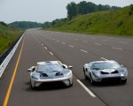 2022 Ford GT 64 Heritage Edition and 1964 Ford GT Prototype Front Wallpapers 150x120 (15)