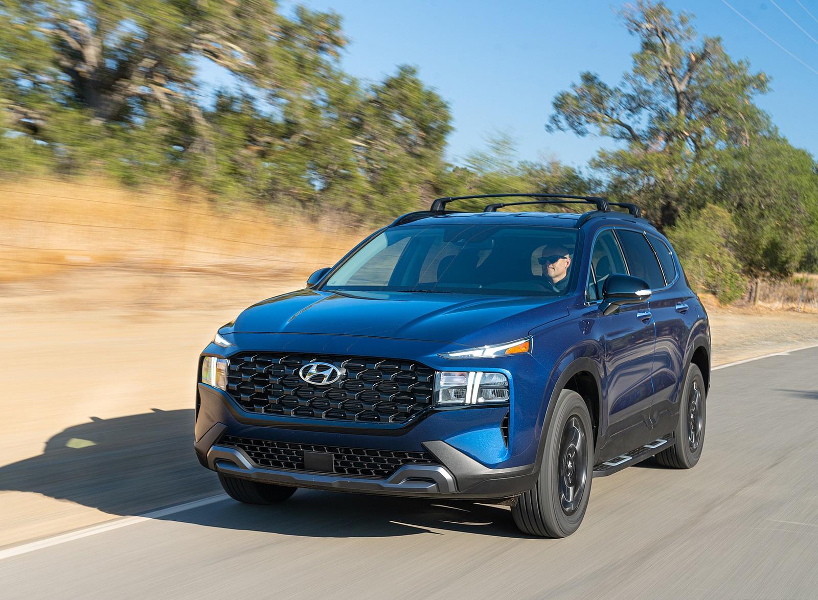 2022 Hyundai Santa Fe XRT Front Three-Quarter Wallpapers (9)