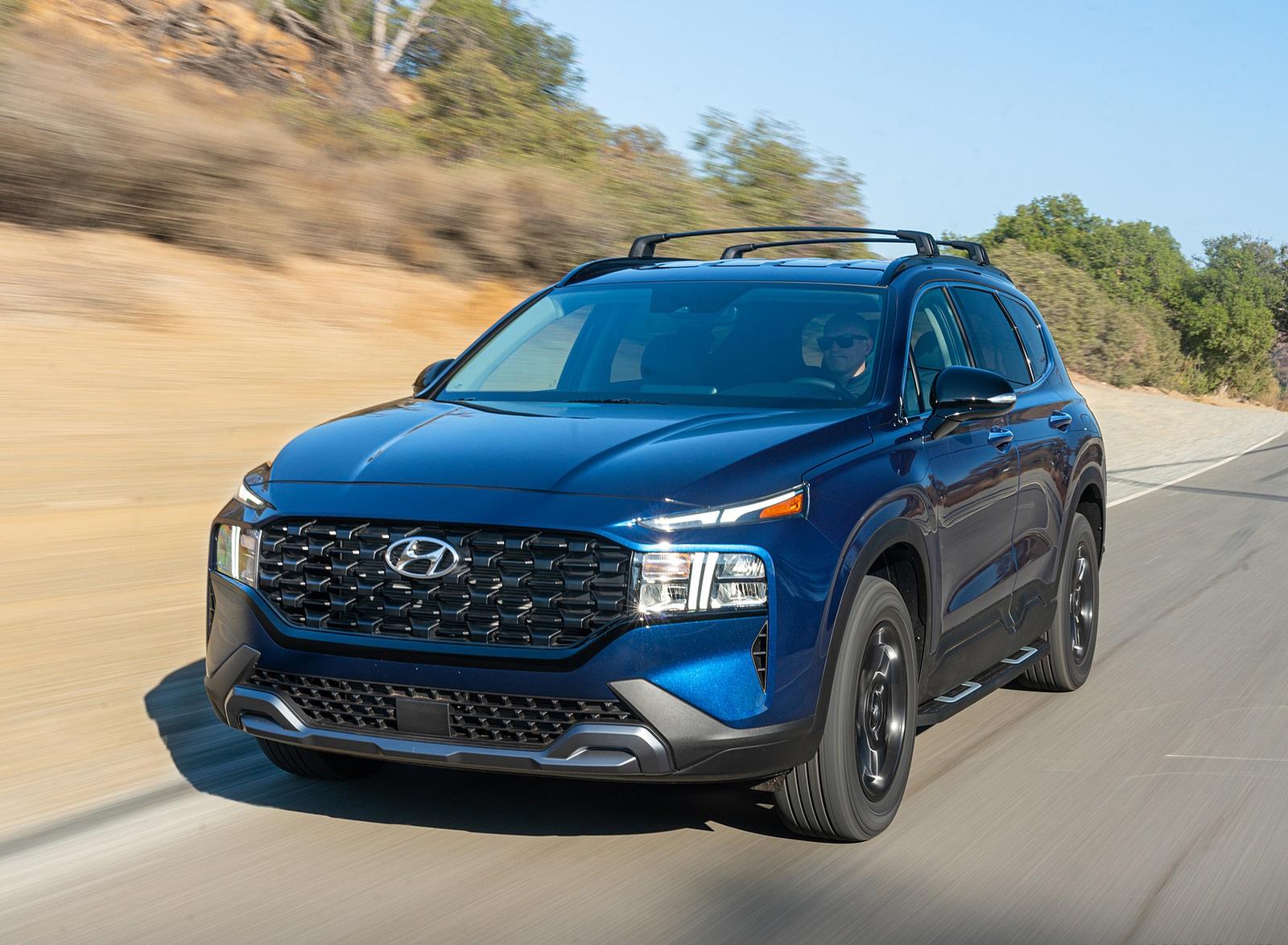 2022 Hyundai Santa Fe XRT Front Three-Quarter Wallpapers (8)