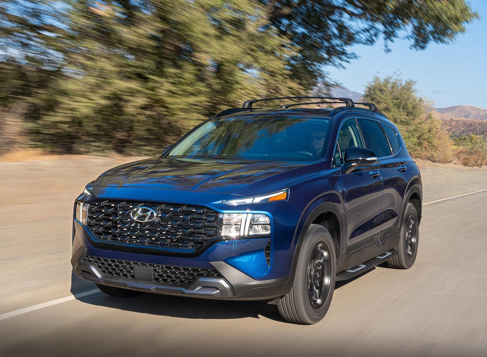 2022 Hyundai Santa Fe XRT Front Three-Quarter Wallpapers (10)