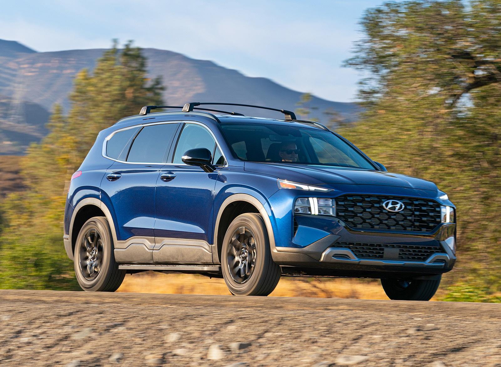 2022 Hyundai Santa Fe XRT Front Three-Quarter Wallpapers (1)