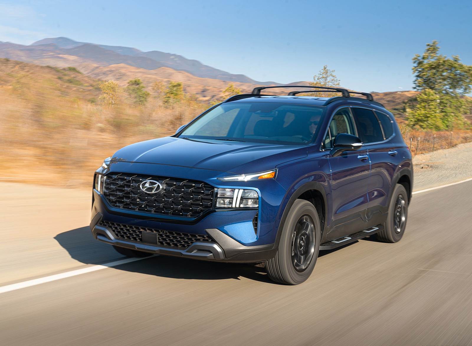 2022 Hyundai Santa Fe XRT Front Three-Quarter Wallpapers (5)