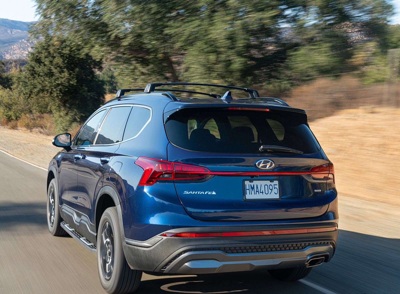 2022 Hyundai Santa Fe XRT Rear Three-Quarter Wallpapers (3)