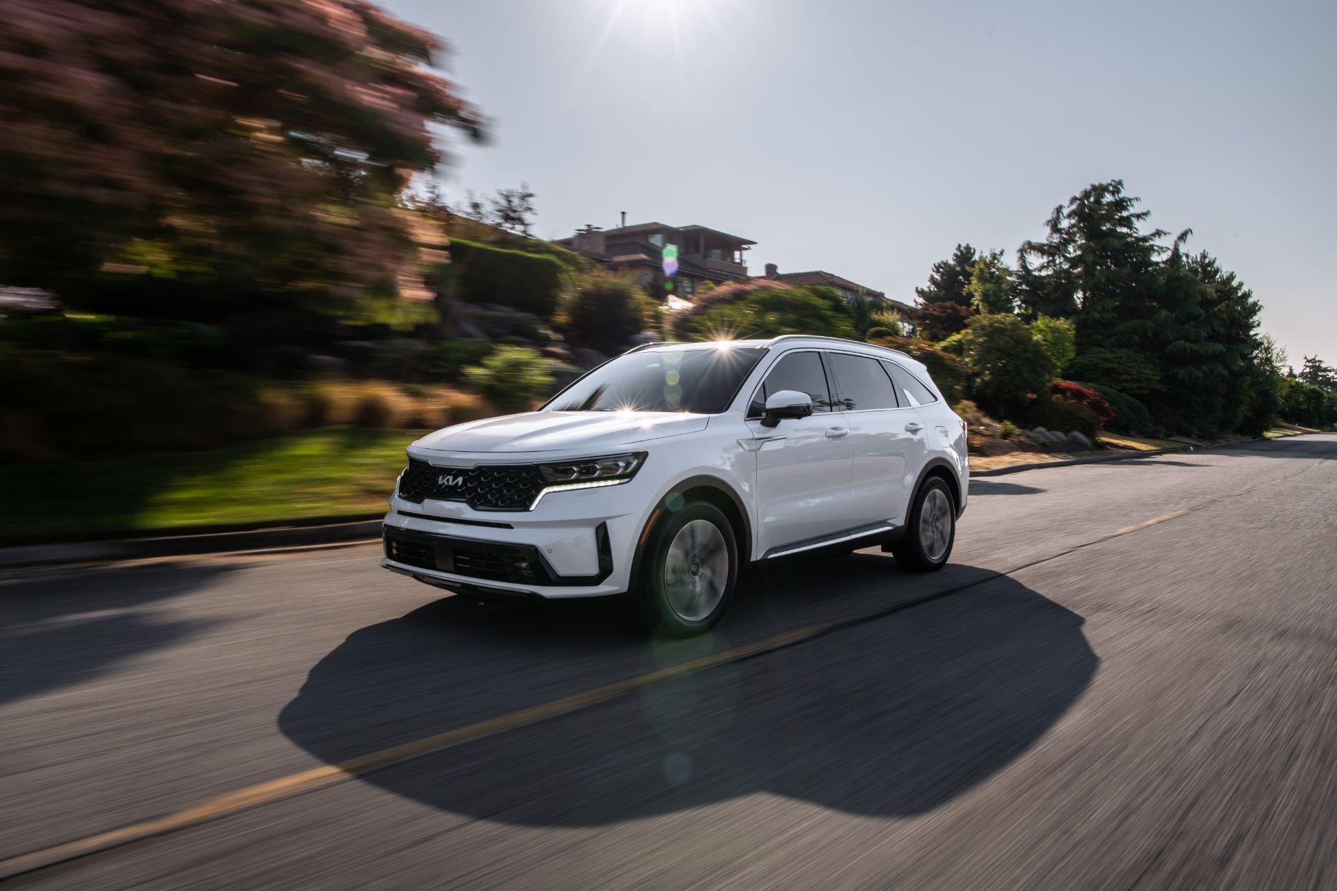 2022 Kia Sorento Plug-in Hybrid Front Three-Quarter Wallpapers (8)