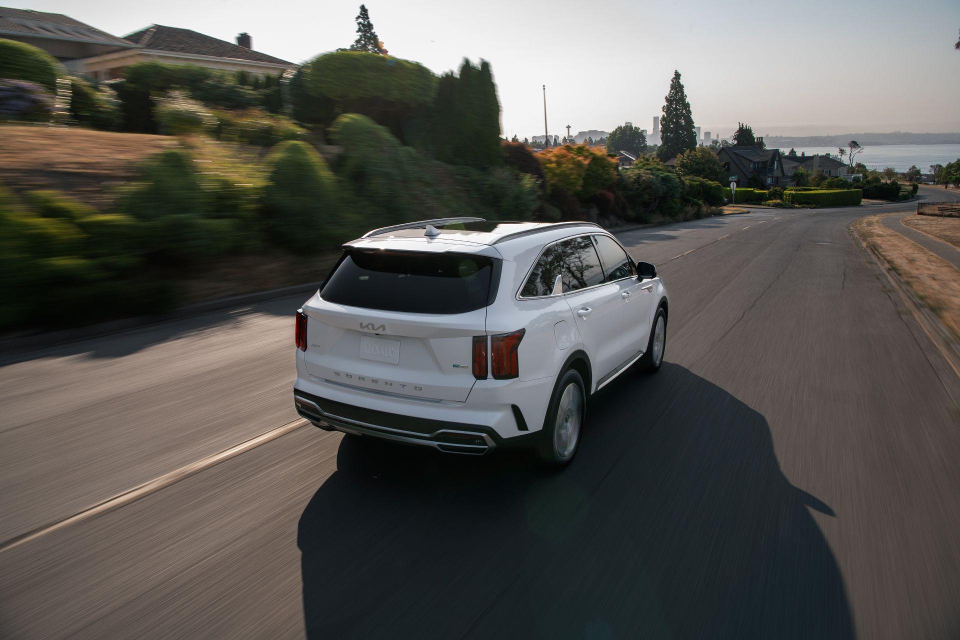 2022 Kia Sorento Plug-in Hybrid Rear Three-Quarter Wallpapers (9)
