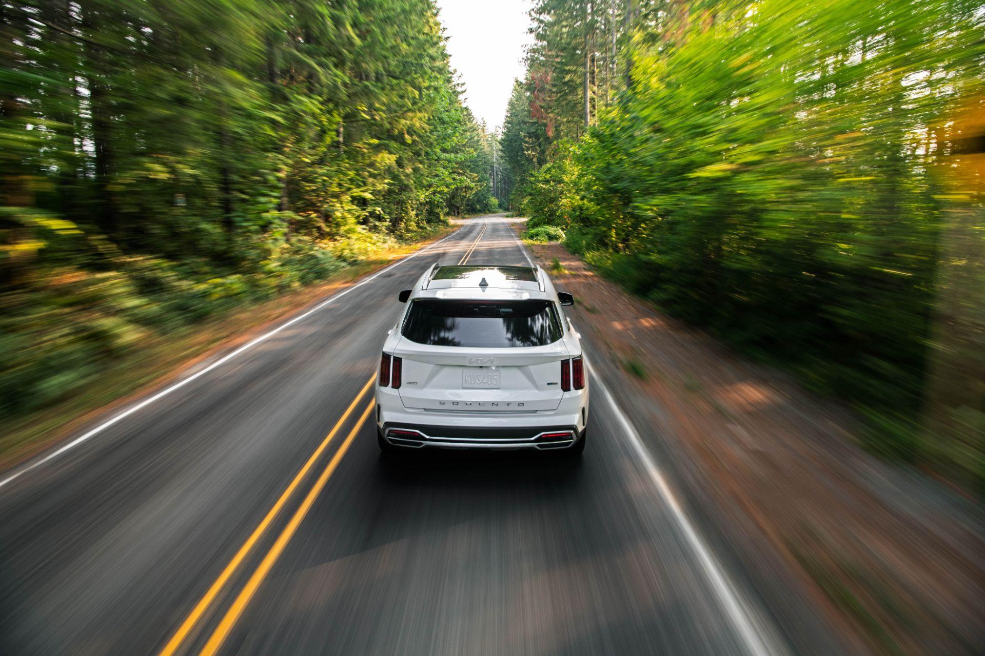 2022 Kia Sorento Plug-in Hybrid Rear Wallpapers (5)