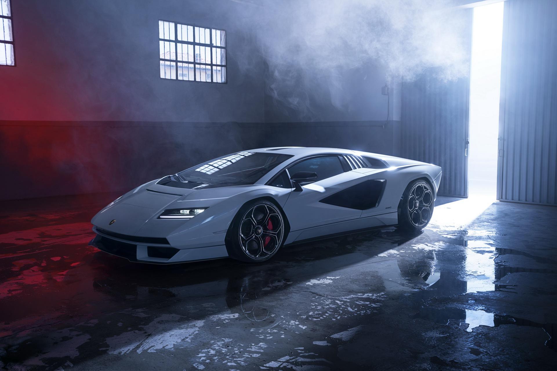 2022 Lamborghini Countach LPI 800-4 Front Three-Quarter Wallpapers (10)
