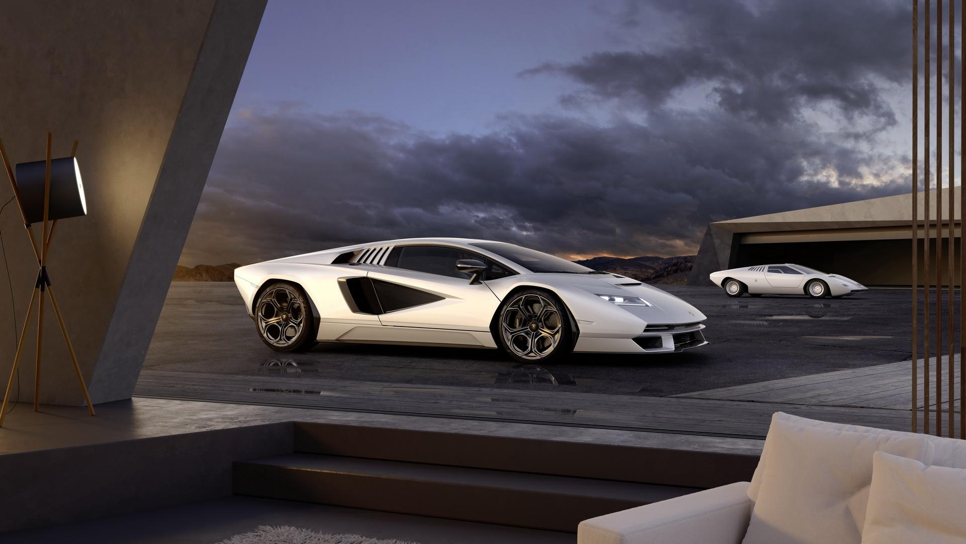 2022 Lamborghini Countach LPI 800-4 Front Three-Quarter Wallpapers (4)
