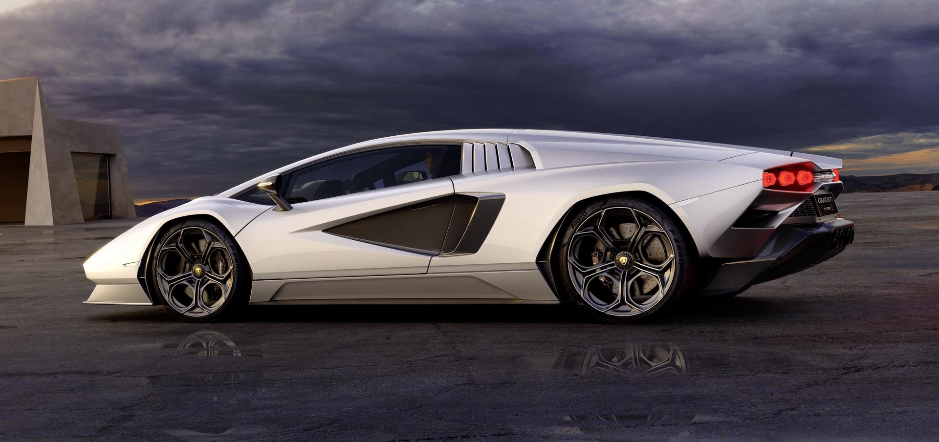 2022 Lamborghini Countach LPI 800-4 Side Wallpapers (6)