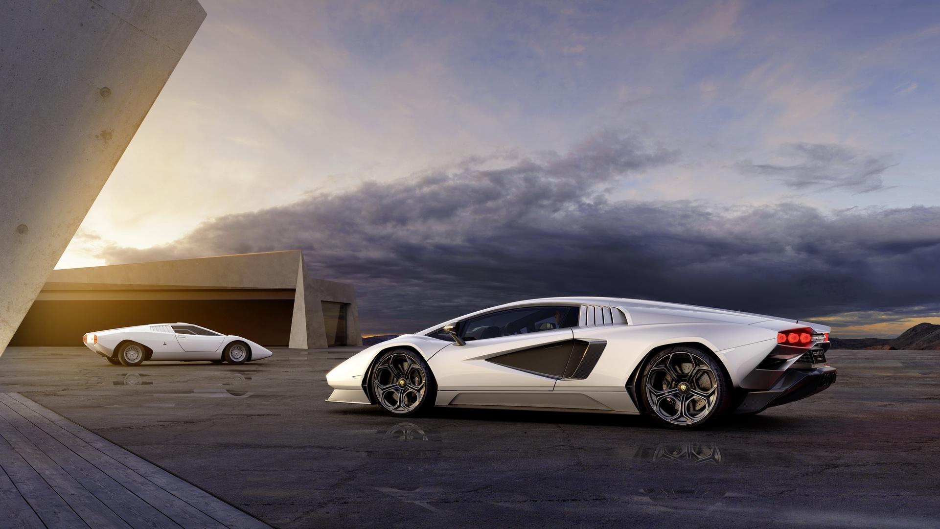 2022 Lamborghini Countach LPI 800-4 Side Wallpapers (7)