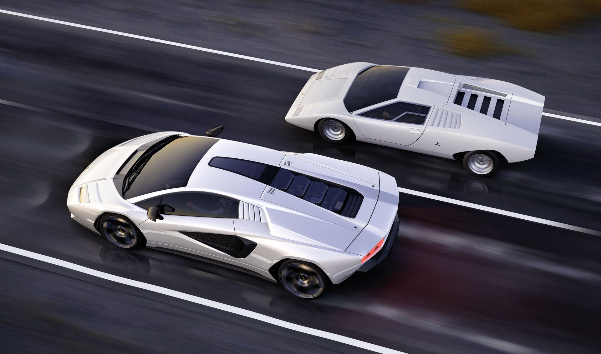 2022 Lamborghini Countach LPI 800-4 Top Wallpapers (8)