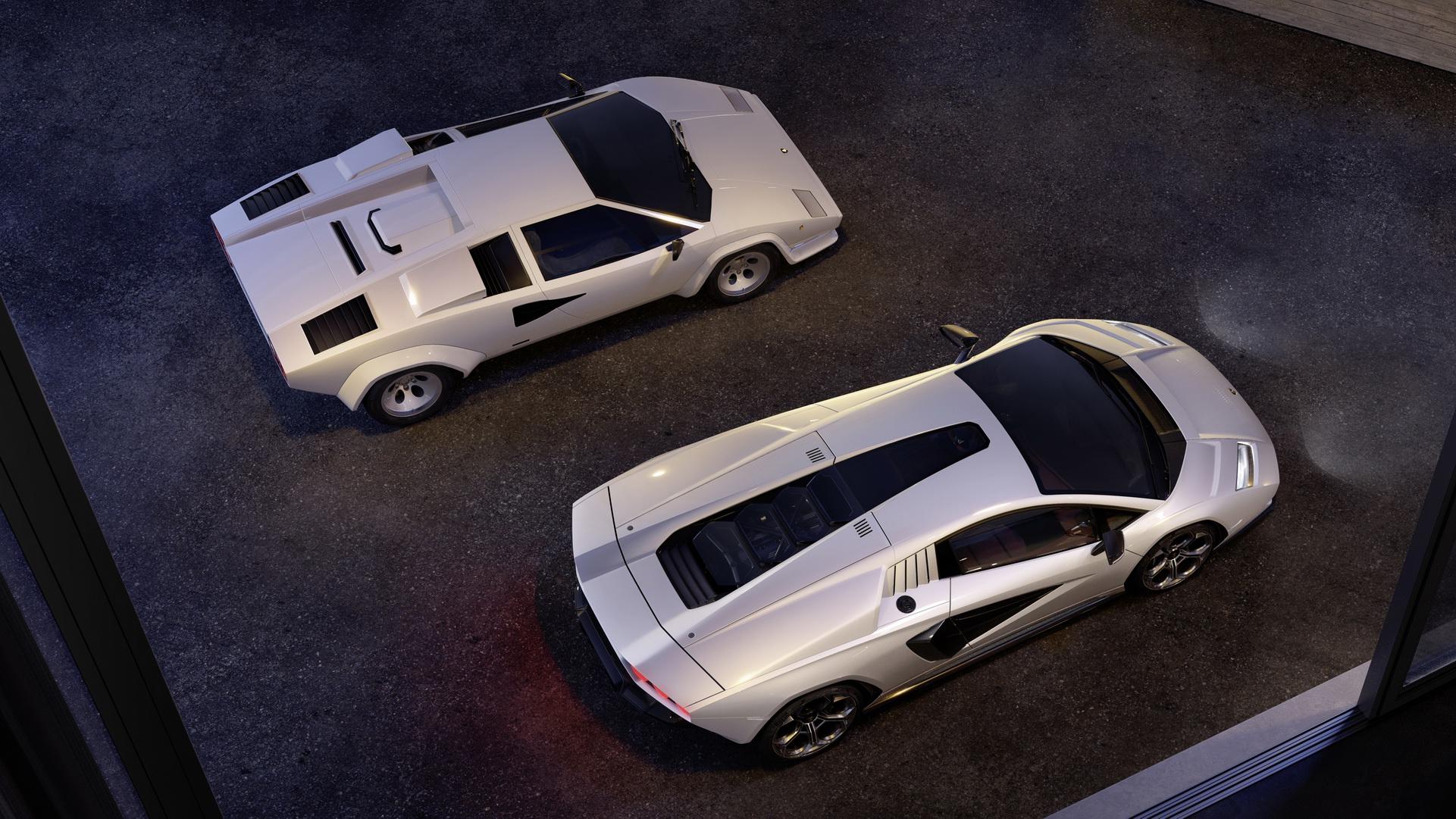 2022 Lamborghini Countach LPI 800-4 Top Wallpapers (9)