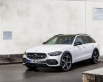 2022 Mercedes-Benz C-Class All-Terrain (Color: Opalite White Bright) Front Three-Quarter Wallpapers 150x120 (22)
