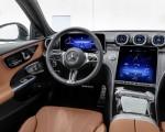 2022 Mercedes-Benz C-Class All-Terrain (Color: Opalite White Bright) Interior Cockpit Wallpapers 150x120 (32)