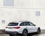 2022 Mercedes-Benz C-Class All-Terrain (Color: Opalite White Bright) Rear Three-Quarter Wallpapers 150x120 (27)