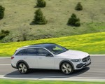 2022 Mercedes-Benz C-Class All-Terrain (Color: Opalite White Bright) Side Wallpapers 150x120 (2)