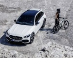 2022 Mercedes-Benz C-Class All-Terrain (Color: Opalite White Bright) Top Wallpapers 150x120 (21)