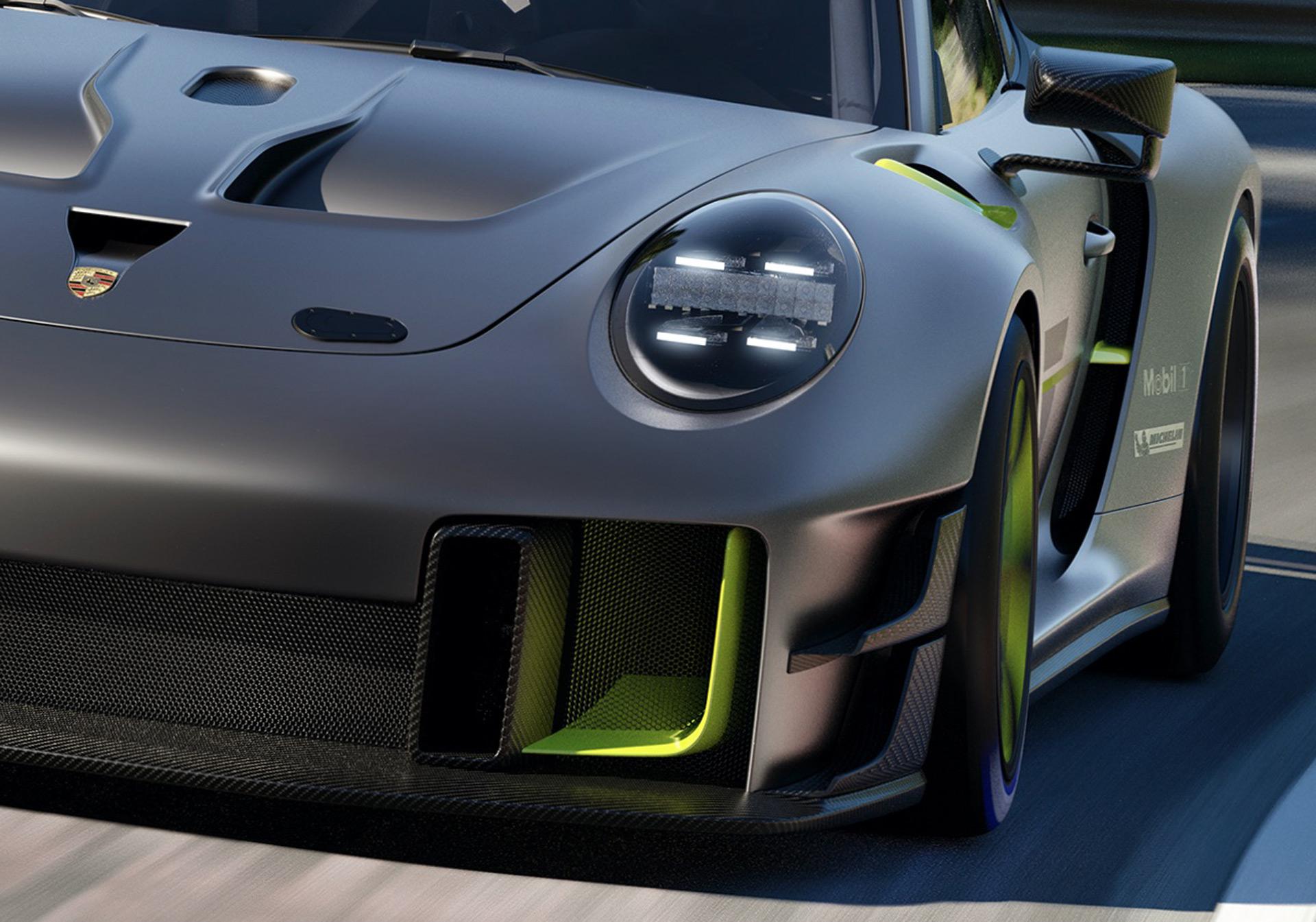 2022 Porsche 911 GT2 RS Clubsport 25 Front Bumper Wallpapers (8)