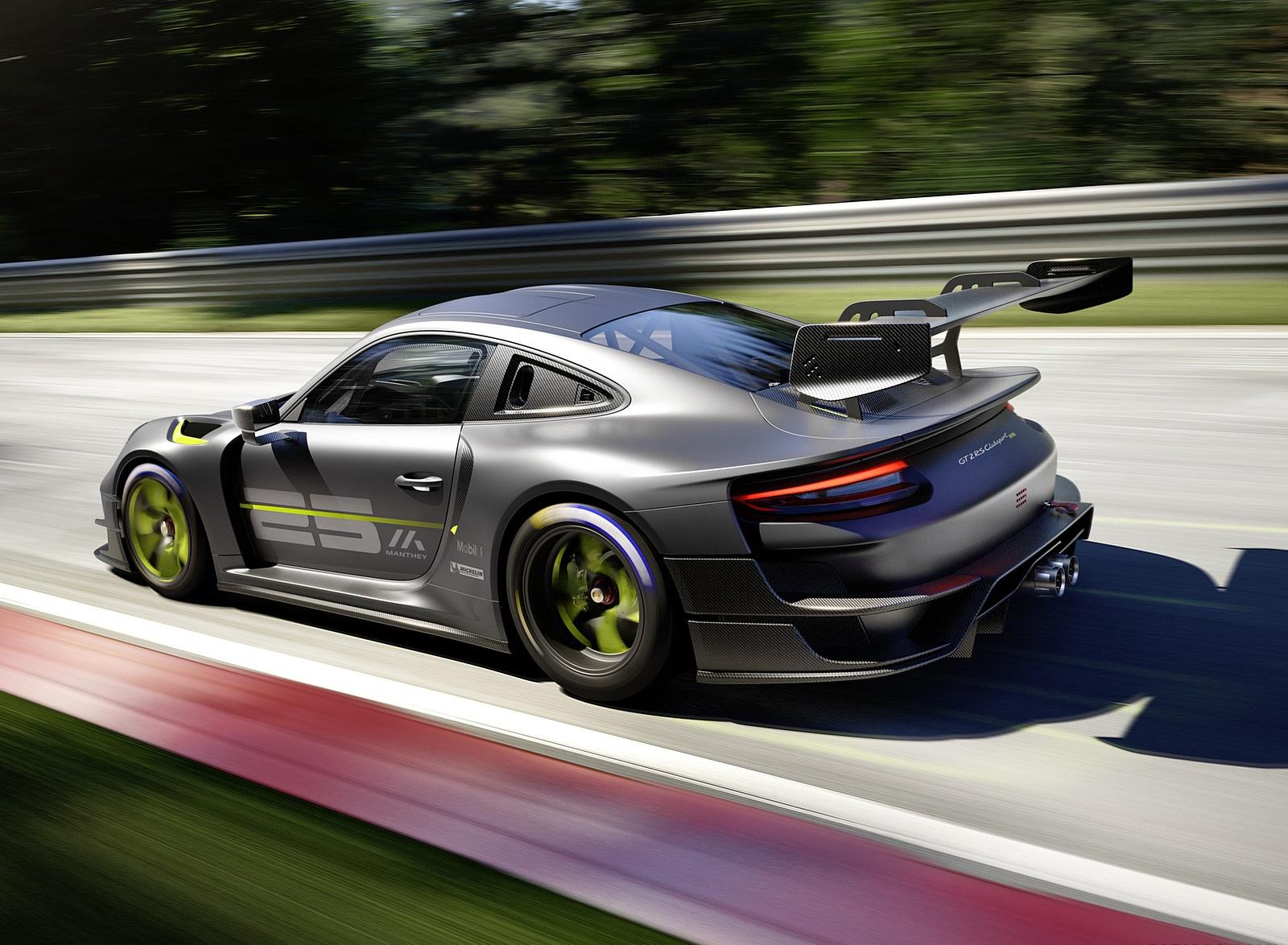 2022 Porsche 911 GT2 RS Clubsport 25 Rear Three-Quarter Wallpapers (2)