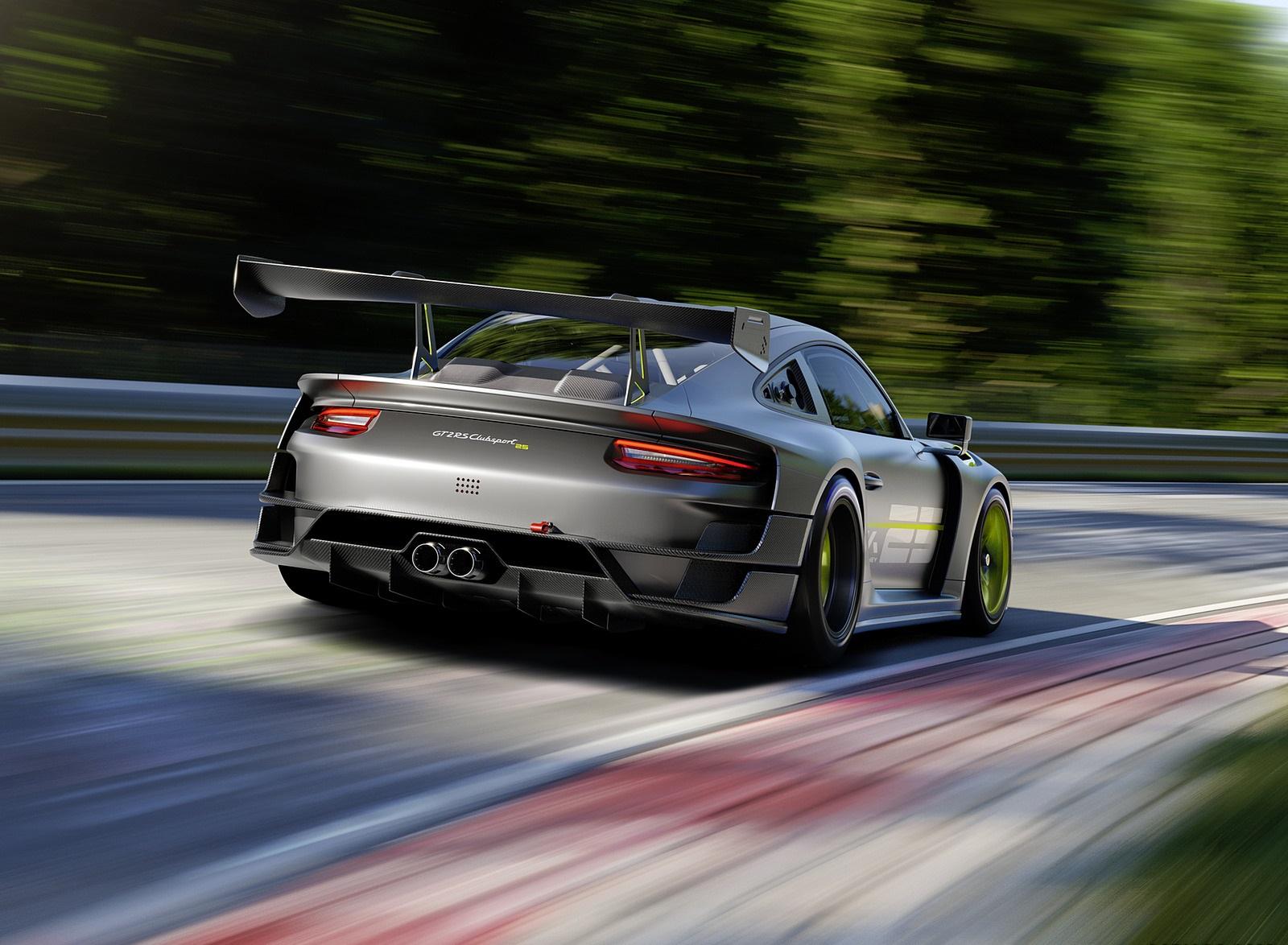 2022 Porsche 911 GT2 RS Clubsport 25 Rear Wallpapers (3)