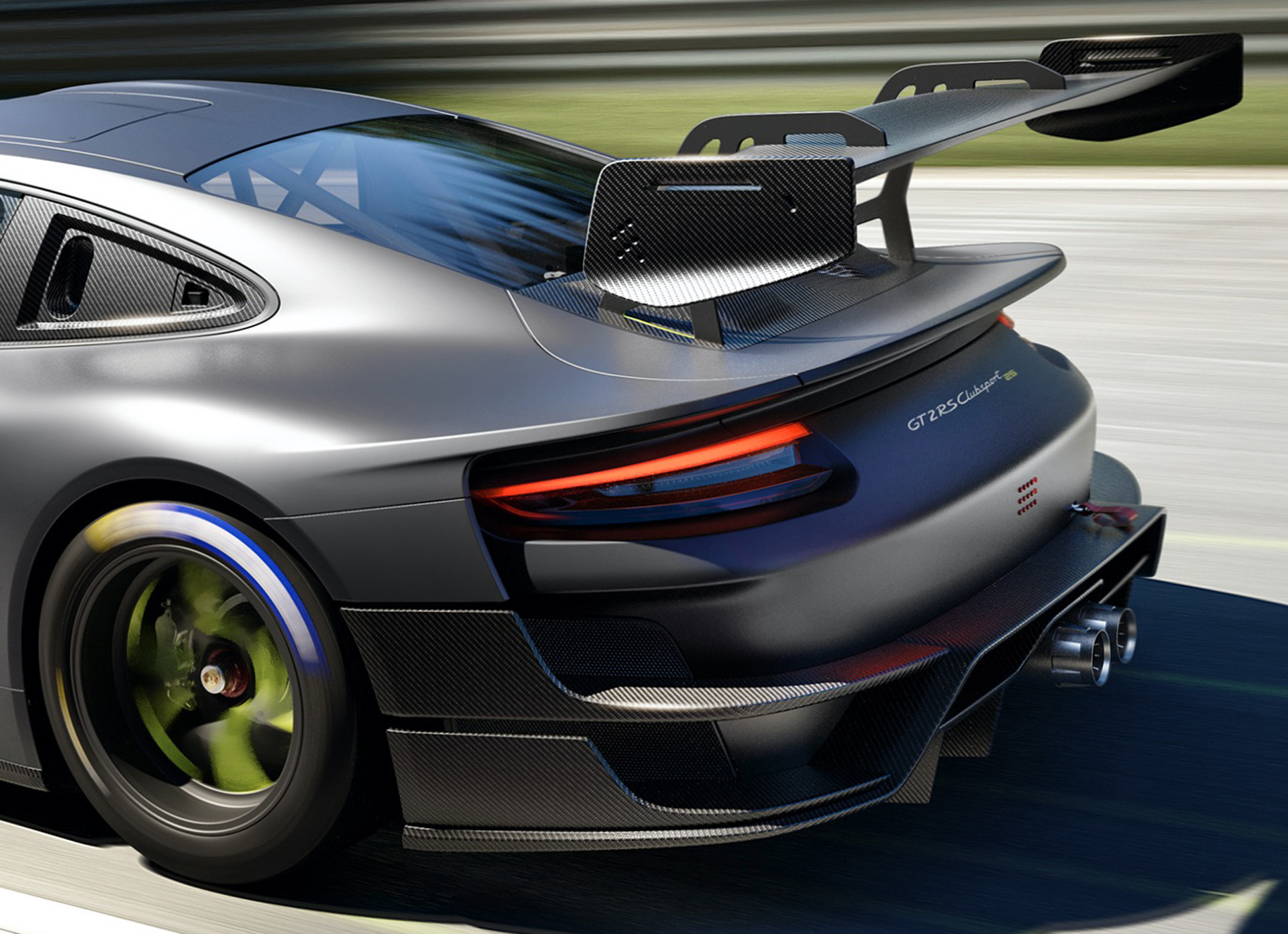 2022 Porsche 911 GT2 RS Clubsport 25 Spoiler Wallpapers (10)