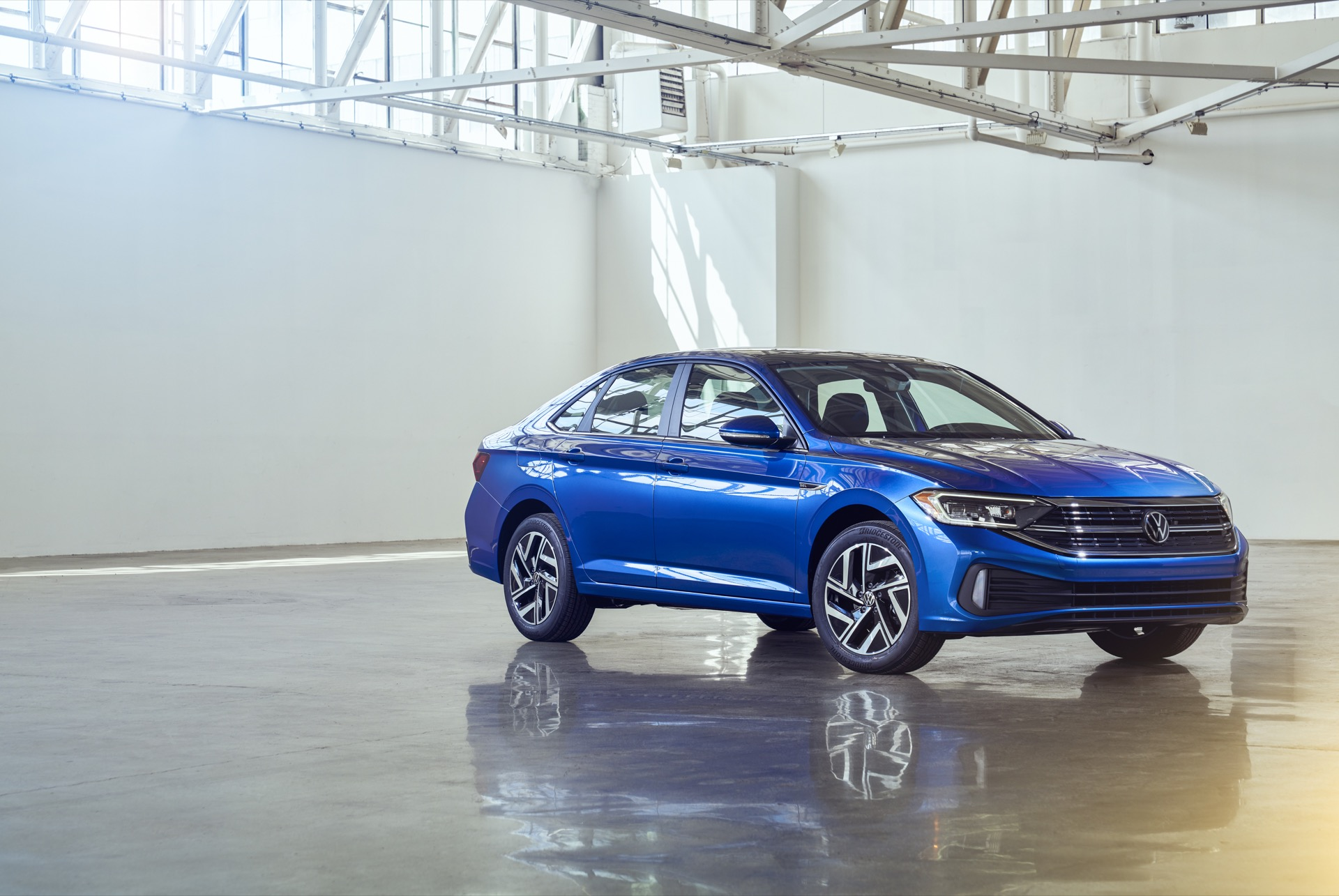 2022 Volkswagen Jetta Front Three-Quarter Wallpapers (1)