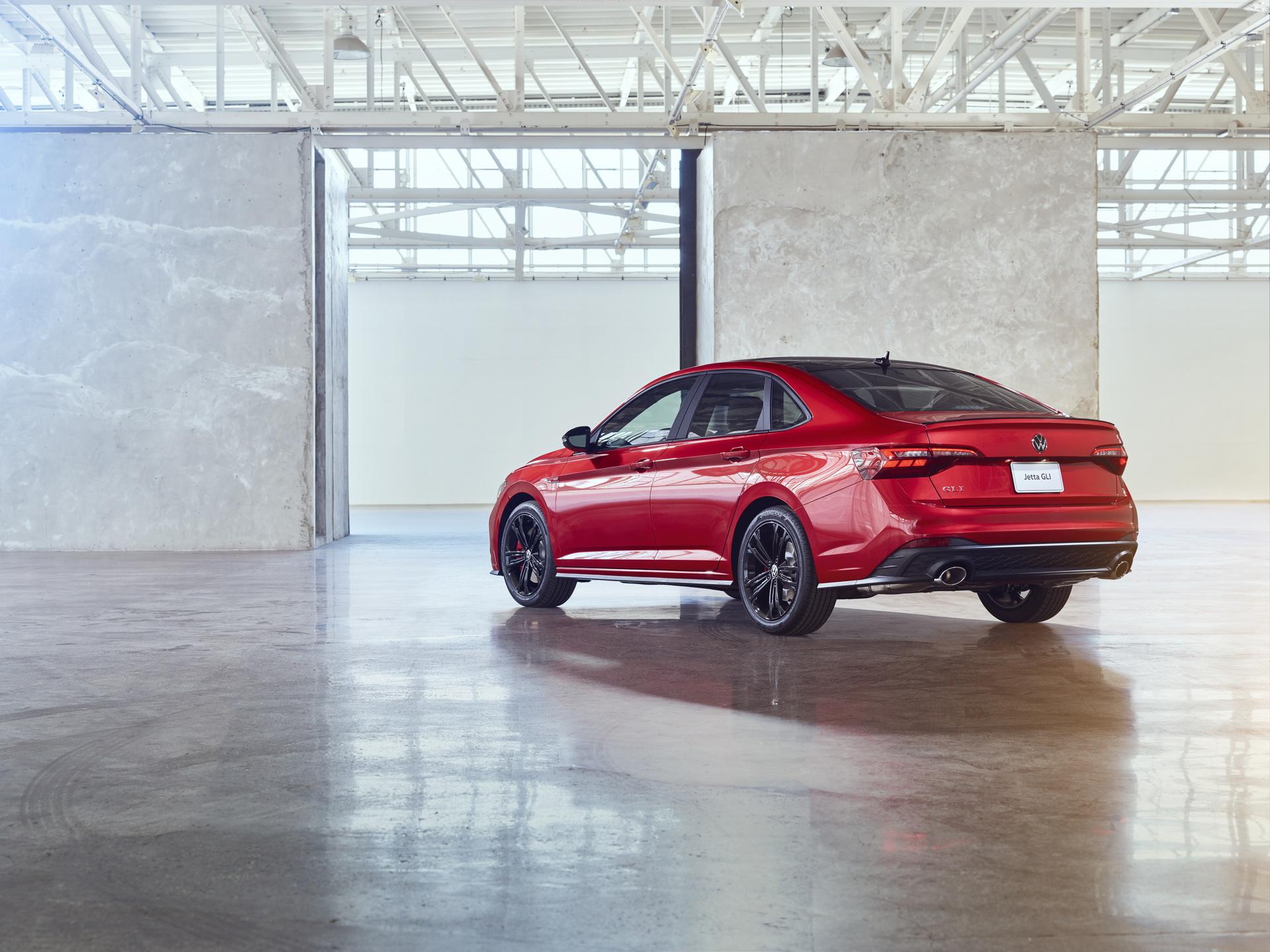 2022 Volkswagen Jetta GLI Rear Three-Quarter Wallpapers (4)