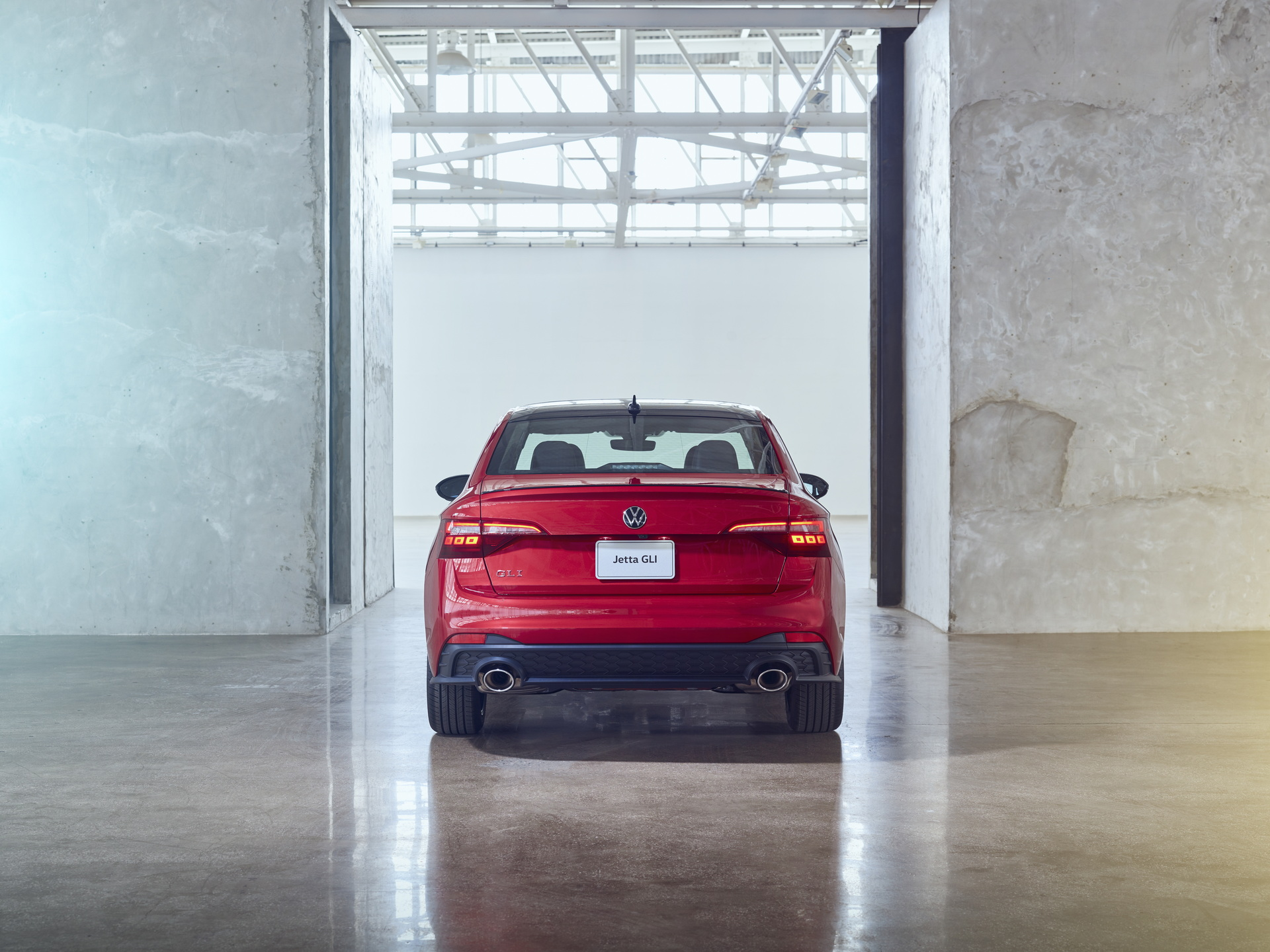 2022 Volkswagen Jetta GLI Rear Wallpapers (6)