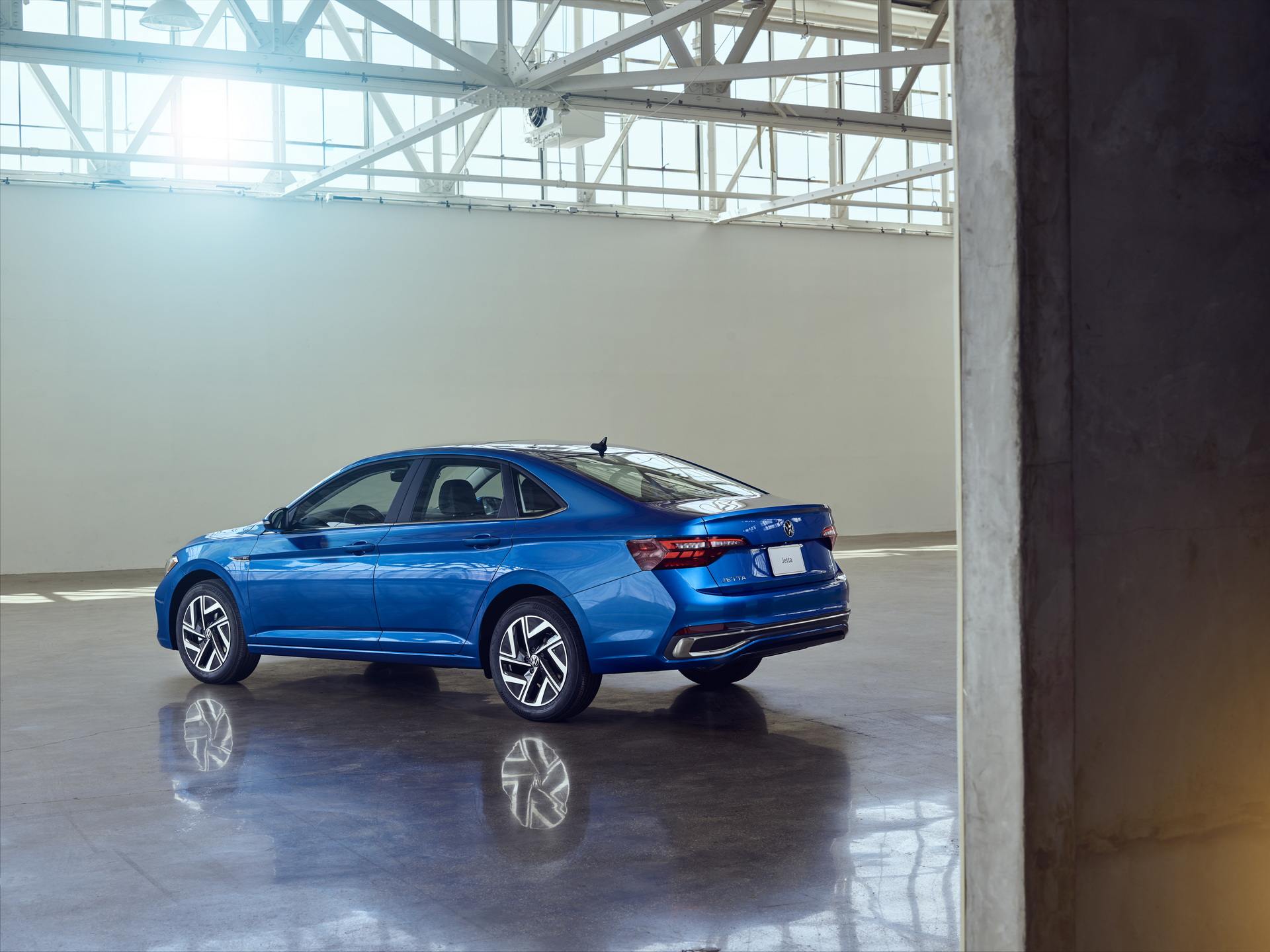 2022 Volkswagen Jetta Rear Three-Quarter Wallpapers (4)