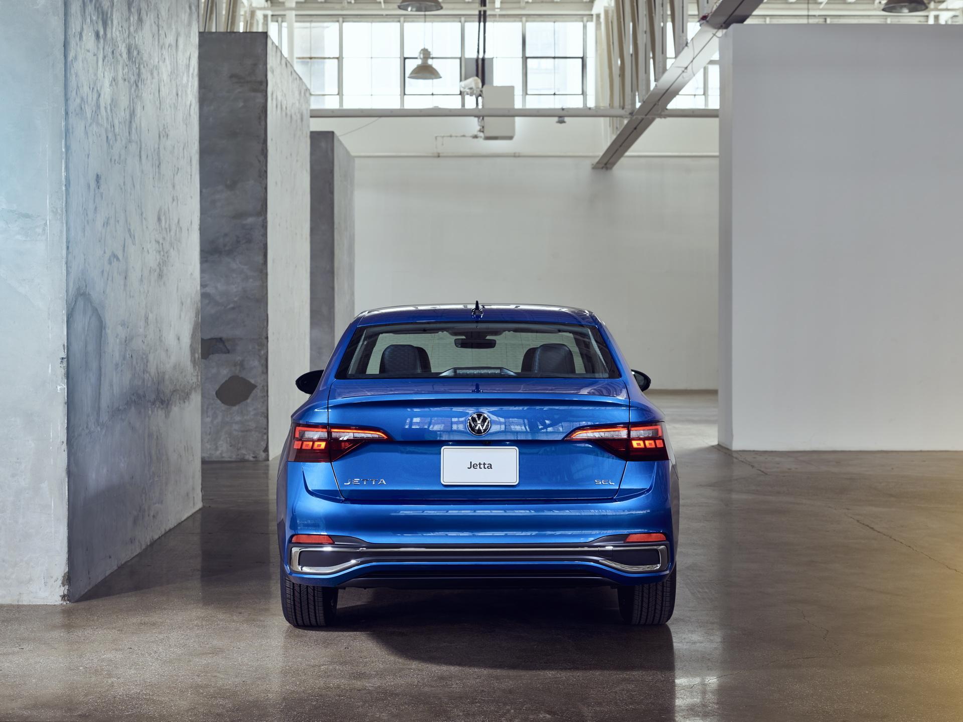 2022 Volkswagen Jetta Rear Wallpapers (5)