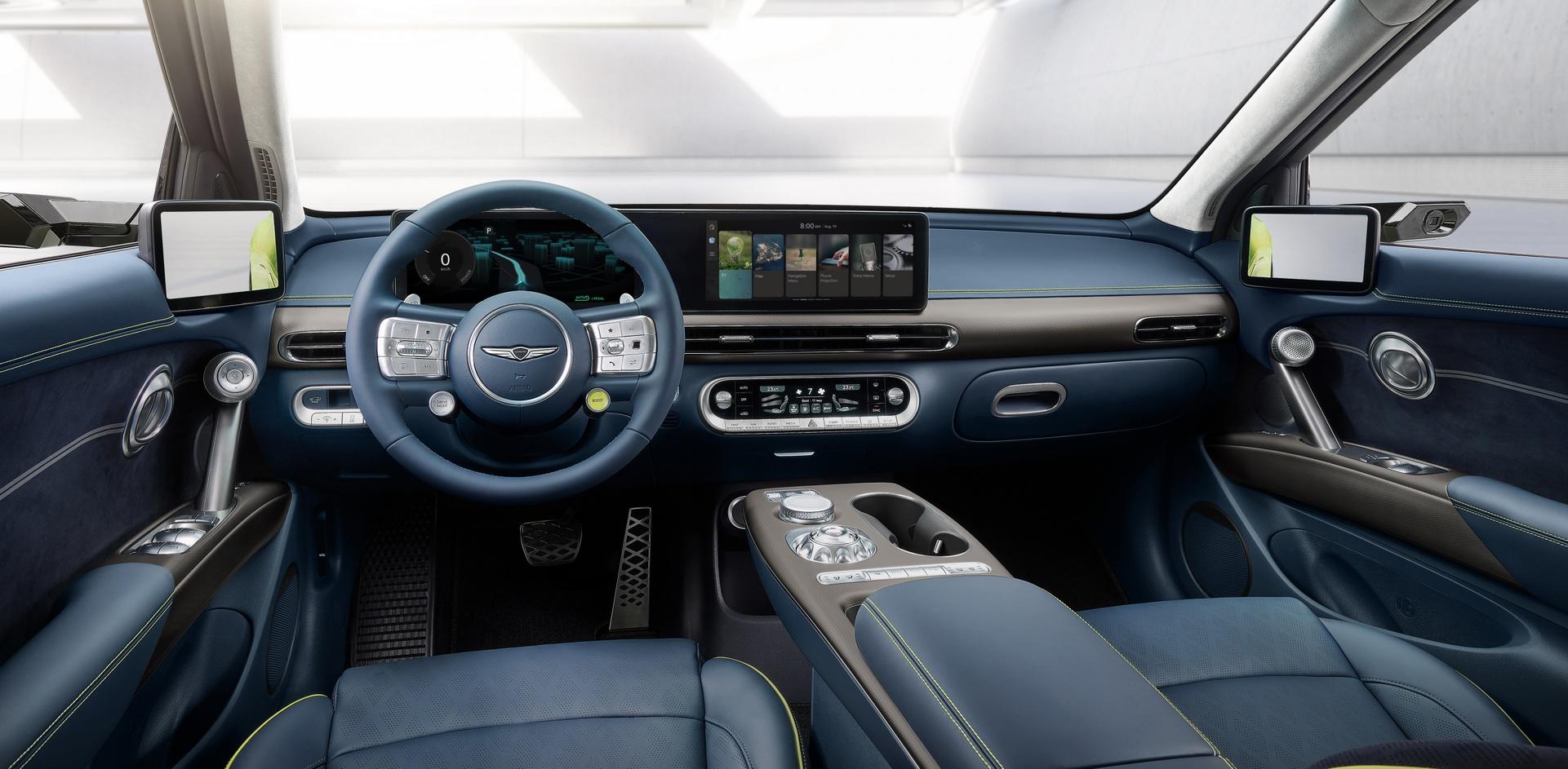 2023 Genesis GV60 Interior Cockpit Wallpapers (8)