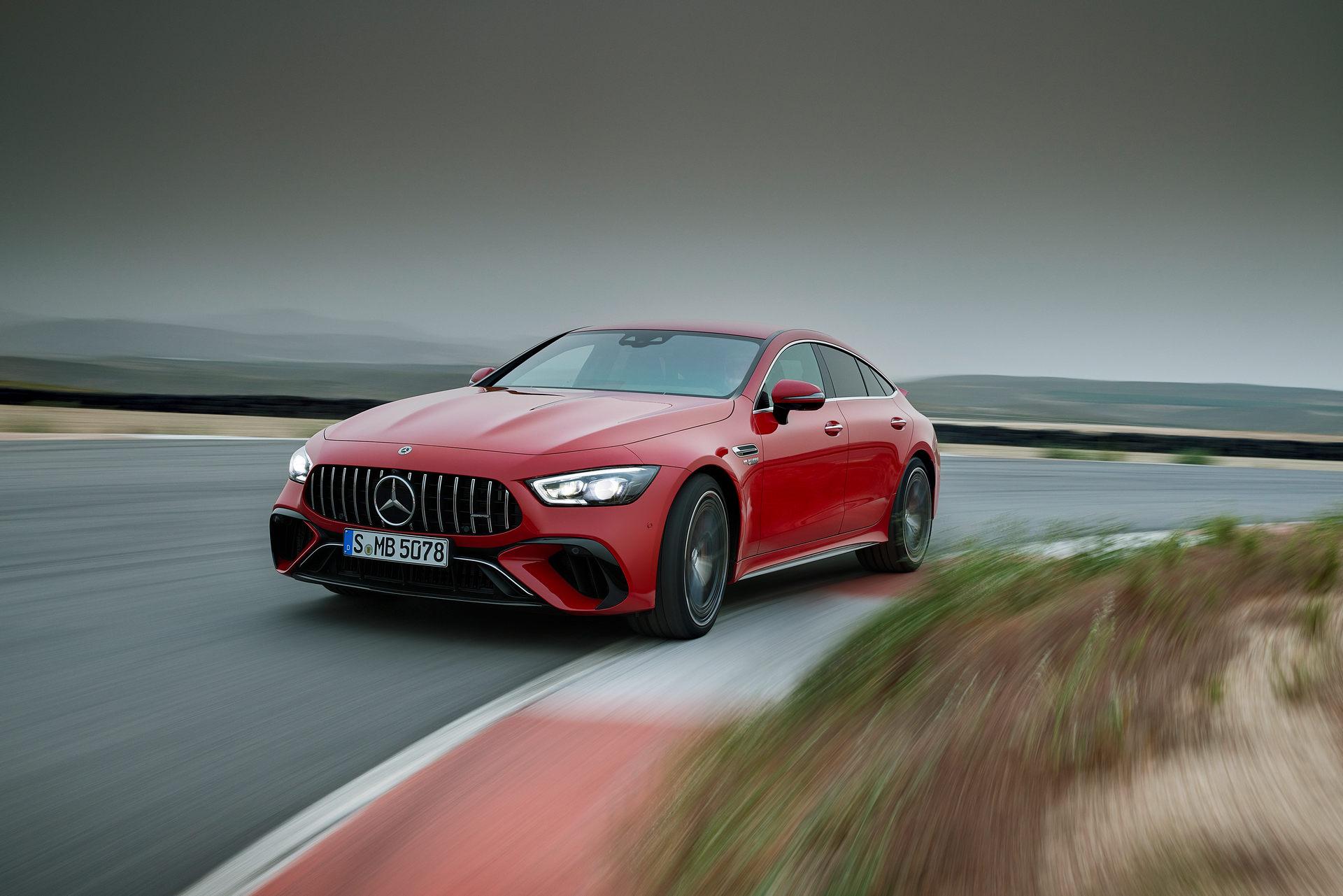 2023 Mercedes-AMG GT 63 S E Performance 4-door Front Three-Quarter Wallpapers (6)