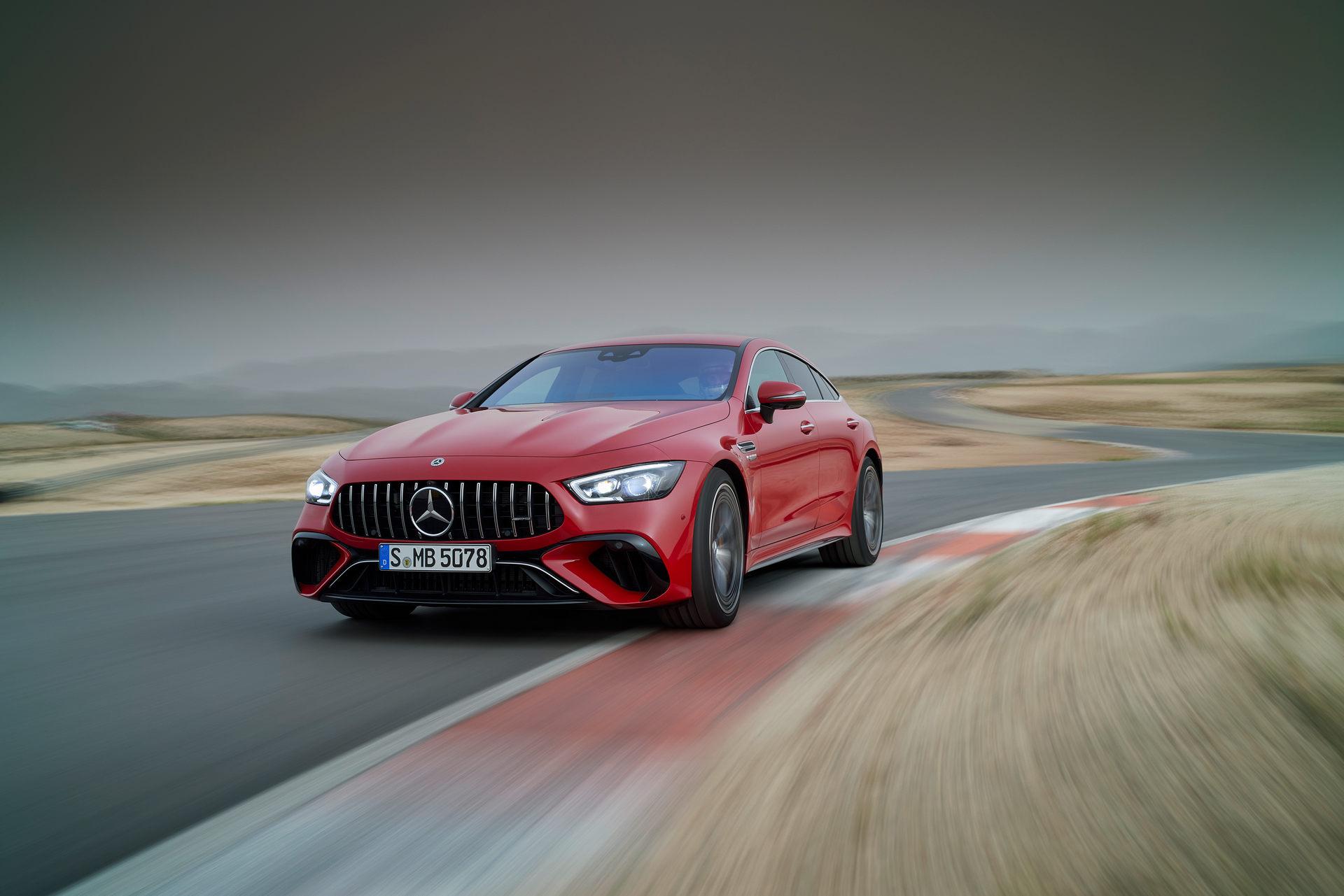2023 Mercedes-AMG GT 63 S E Performance 4-door Front Three-Quarter Wallpapers (7)