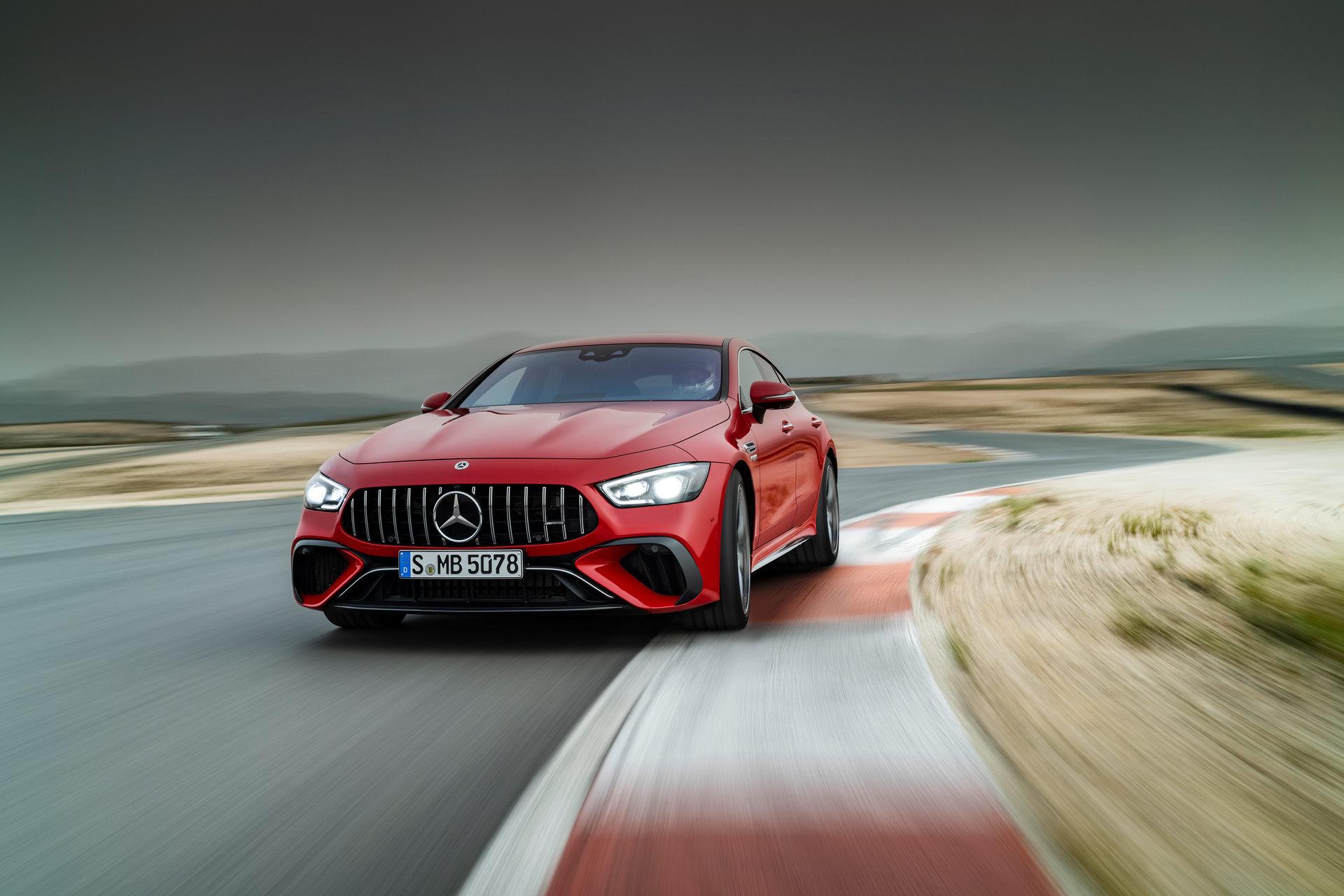 2023 Mercedes-AMG GT 63 S E Performance 4-door Front Wallpapers (8)