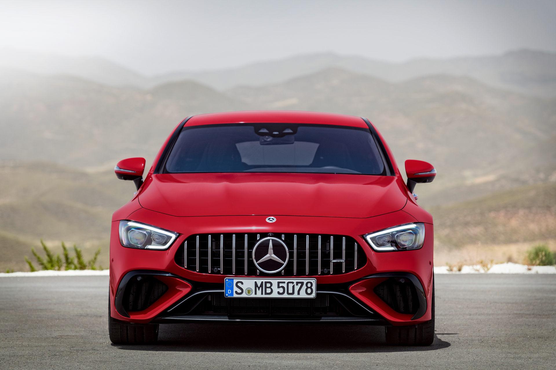 2023 Mercedes-AMG GT 63 S E Performance 4-door Front Wallpapers (2)
