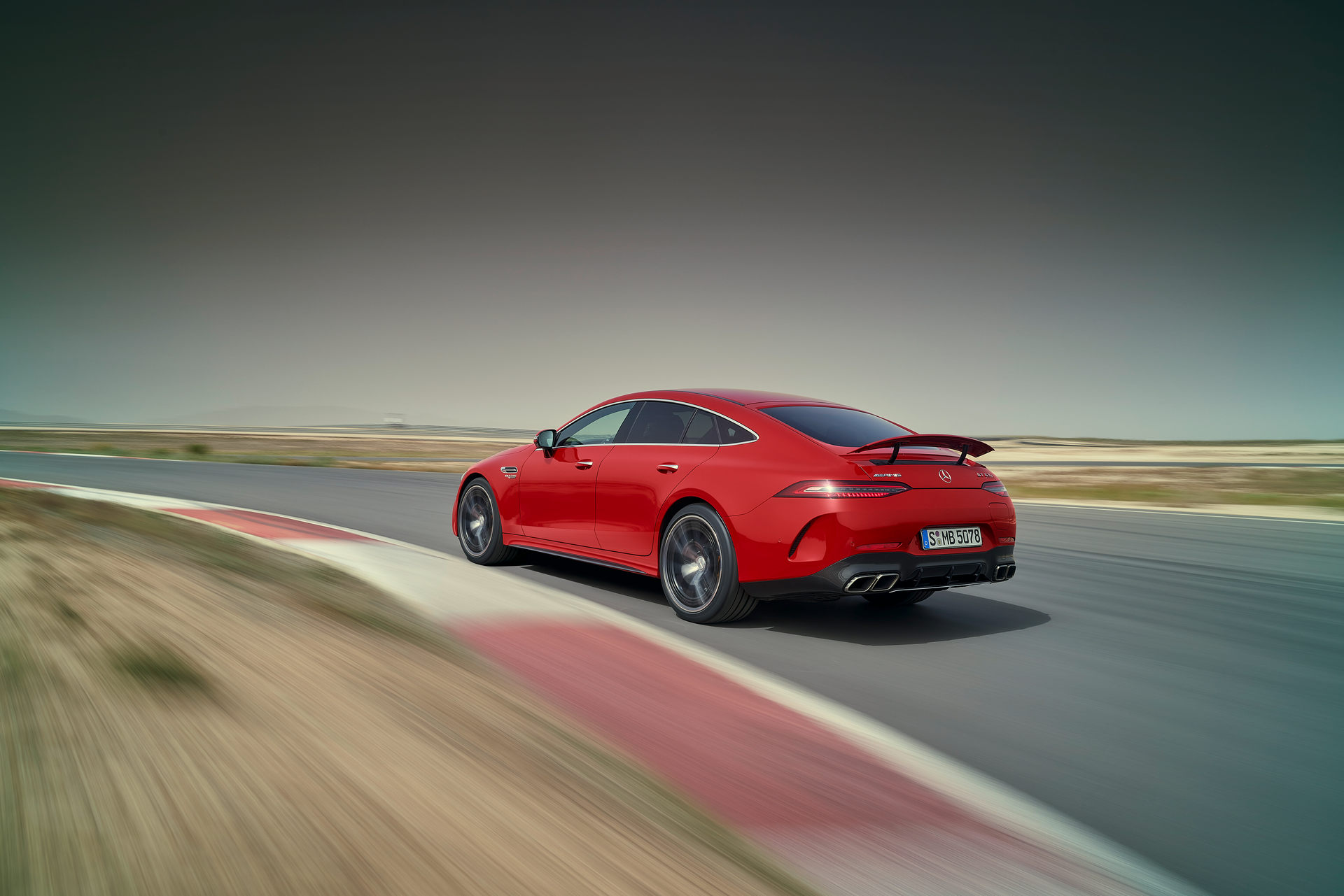 2023 Mercedes-AMG GT 63 S E Performance 4-door Rear Three-Quarter Wallpapers (9)